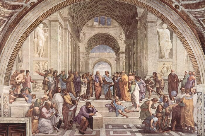Art School of Athens by Raphael