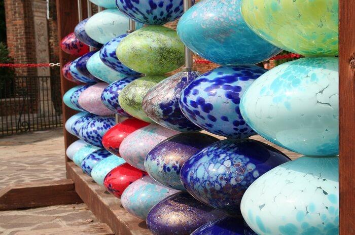 Glass Artwork in Murano
