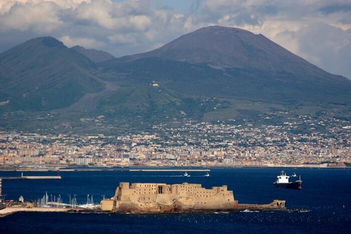 Bay of Naples & Mt Vesuvius