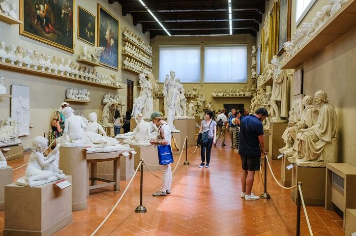 Visiting Accademia Gallery