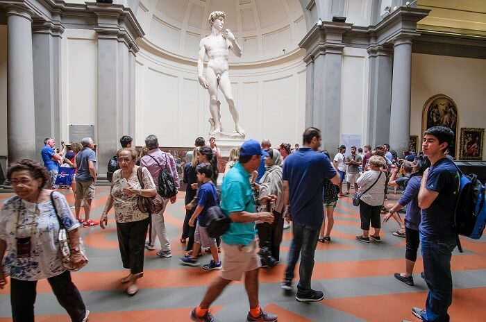 Exploring Accademia Gallery