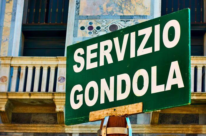 Servizio Gondola