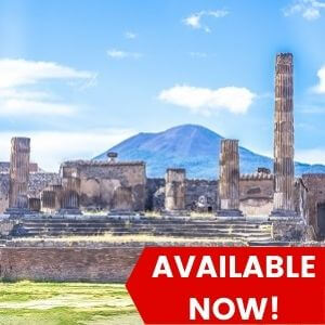 Pompeii Tour from Rome - At Your Own Pace