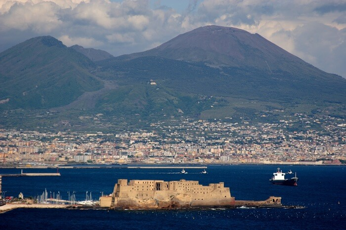 Bay of Naples & Mt Vesuvius