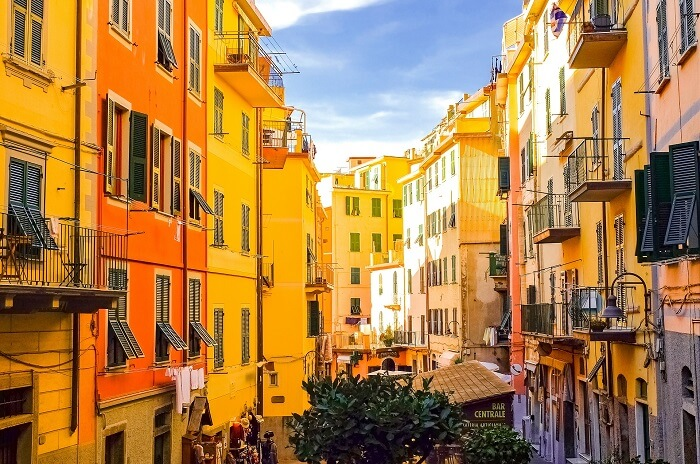 Inside the villages of Cinque Terre