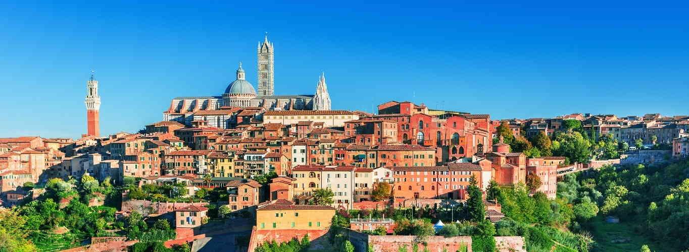Tuscany Day Tour - Siena, San Gimignano, Pisa and Chianti Winery Lunch