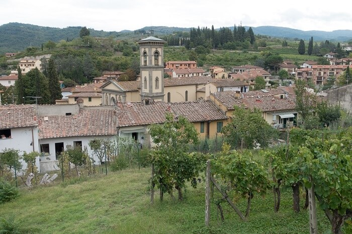 Tuscan village of Greve