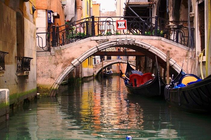 Bridge of the waterways