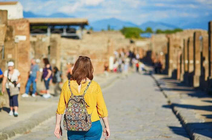 Finish at the Pompeii Ruins at Your Own Pace