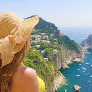 Tour di Un Giorno a Capri con Grotta Azzurra da Roma