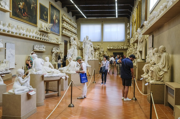 Explore the Accademia Gallery
