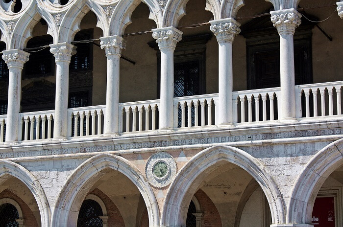 Outside Doge Palace