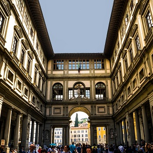 Florence Walking Tour with Uffizi Gallery