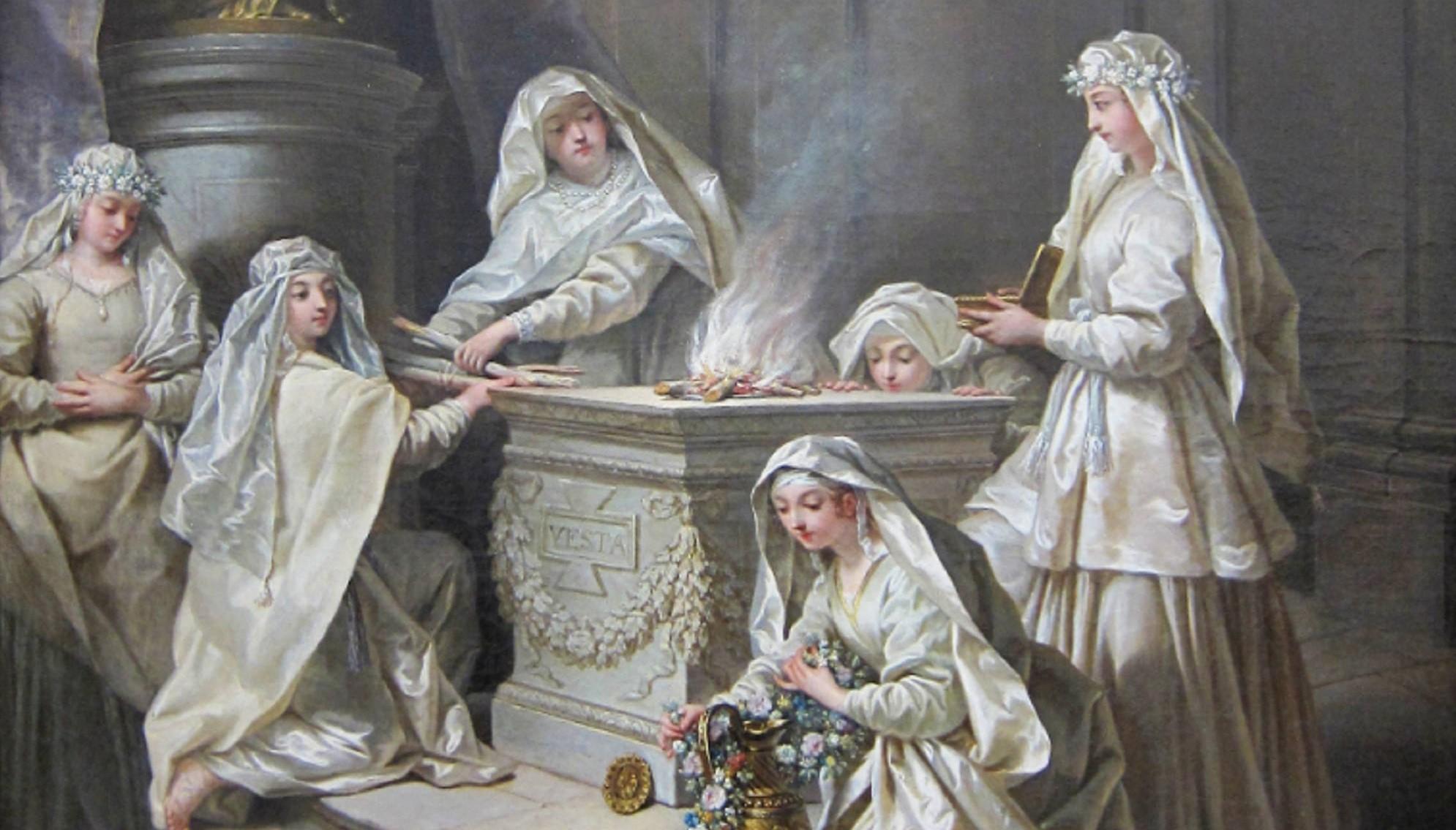 What were the Duties of the Vestal Virgins?