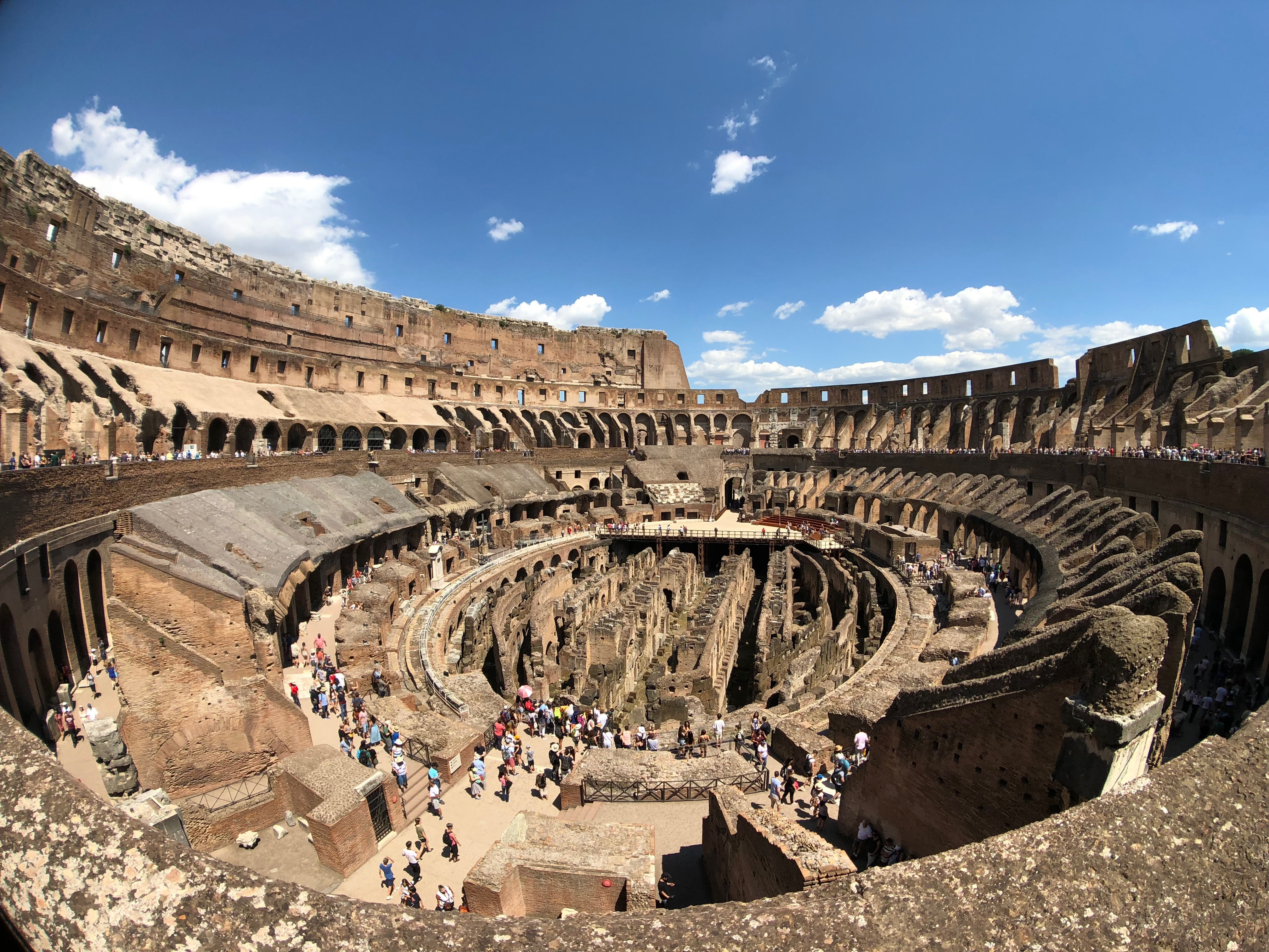 Why was the Colosseum Built?