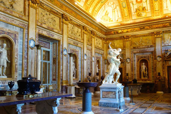 Borghese Gallery and Museum in Rome, Italy