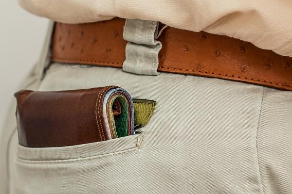 Wallet in Man's Pant