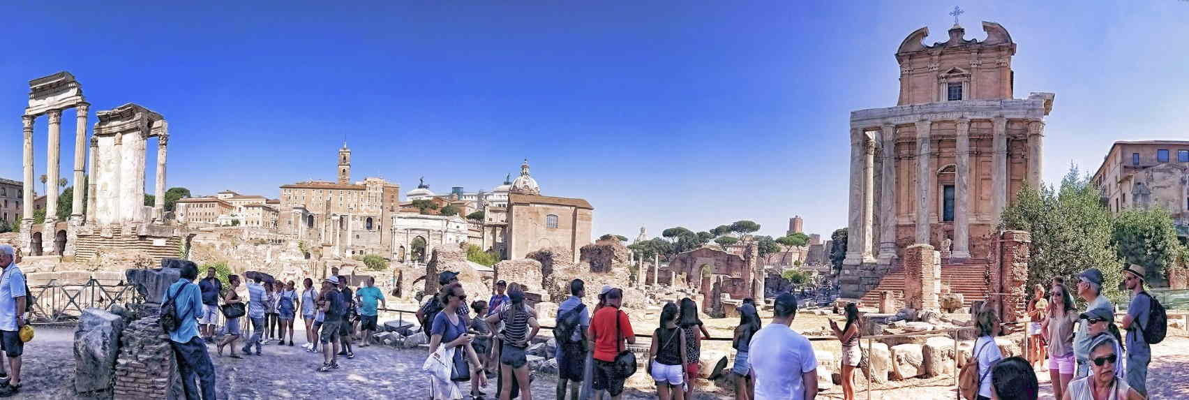 Virtual Tour of Rome and the Colosseum