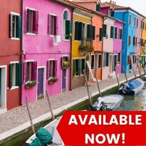Afternoon Venice Islands To Murano, Burano & Torcello Tour