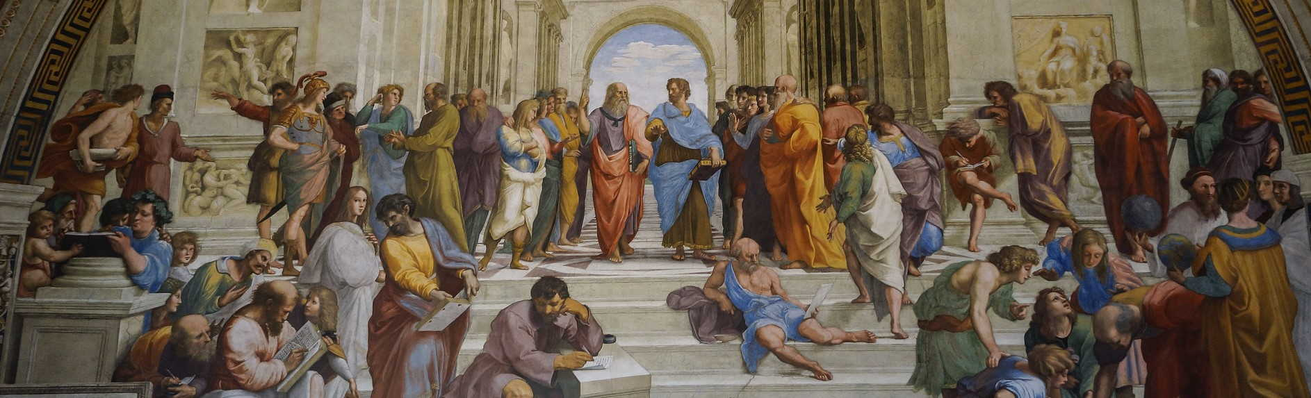 What does the School of Athens represent?