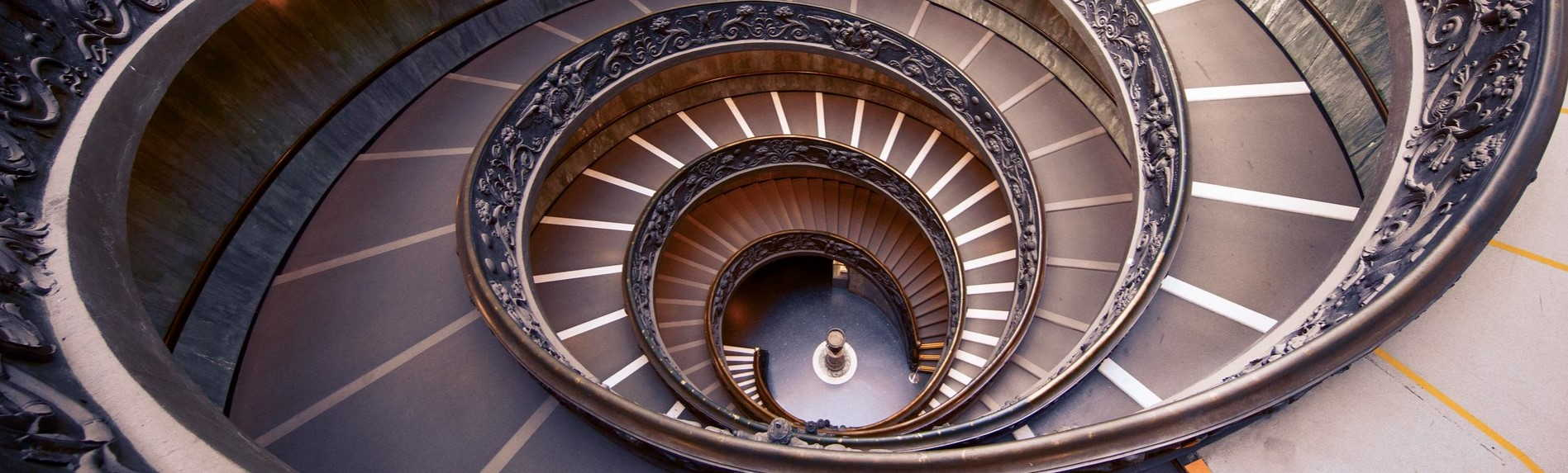 Why was the Bramante Staircase Built?