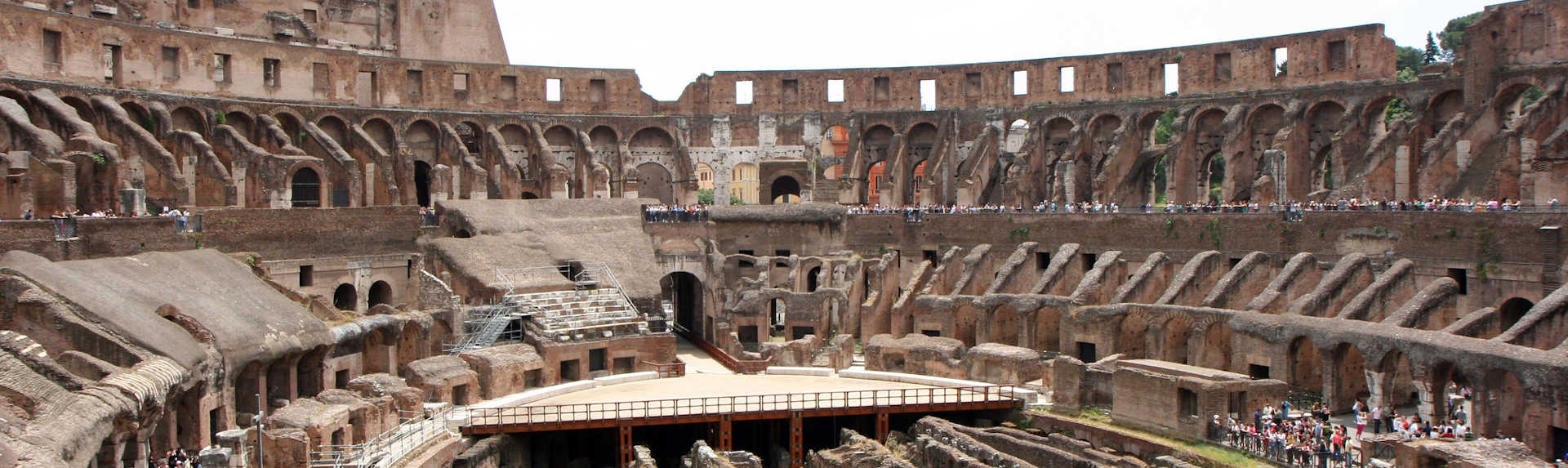 Why is the Colosseum broken?
