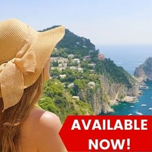 1 Day Capri Tour with Blue Grotto from Rome